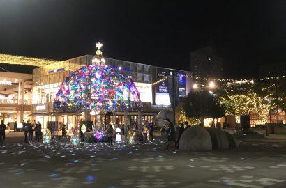 海浜幕張駅前イルミネーション